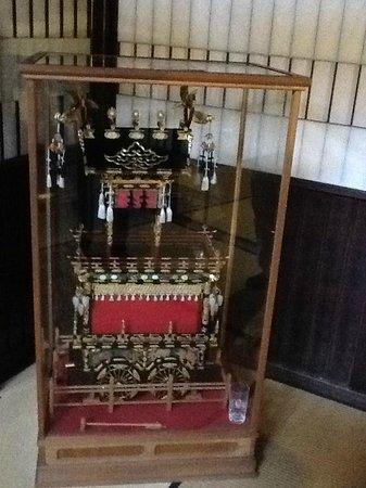 Kusakabe Folk Museum : Pequeno carro alegorico