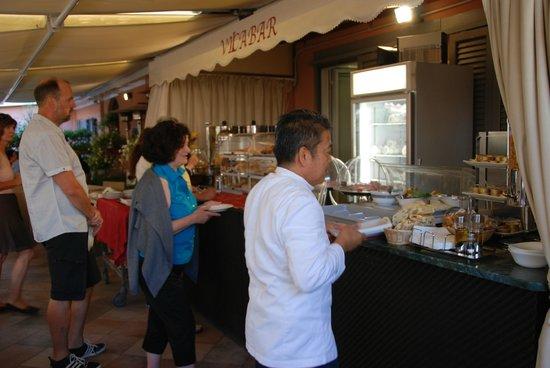 Hotel San Carlo : Rooftop Restaurant