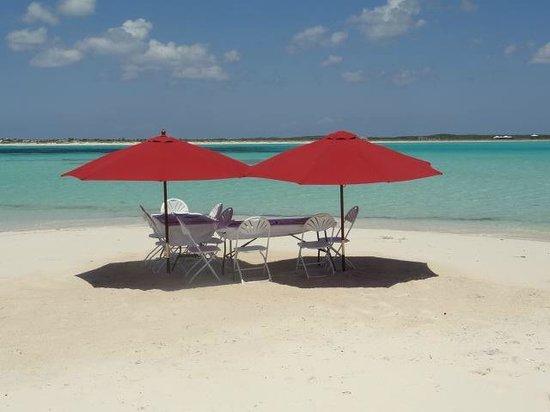 Club Med Columbus Isle : Déjeuner sur l'île High Cay