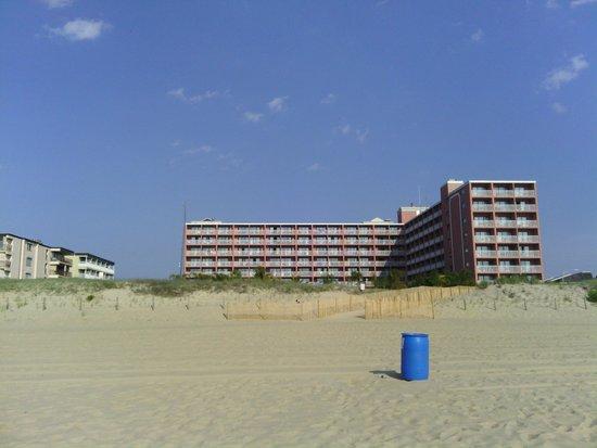 Holiday Inn Ocean City: View from the Beach