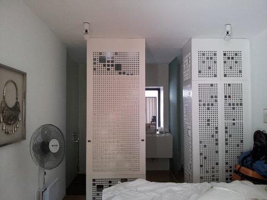 The Bivou: room