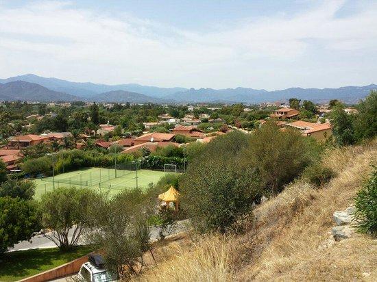 Hotel Club Saraceno : Struttura vista dalla panoramica