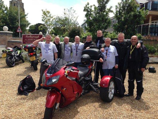 Marlborough Hotel: Classic motor rally