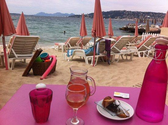 La plage des iles : Beautiful spot even though the weather was a bit cloudy