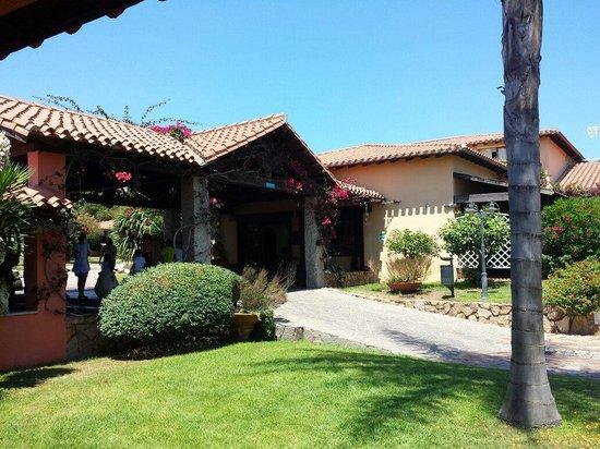 Hotel Club Saraceno: Reception