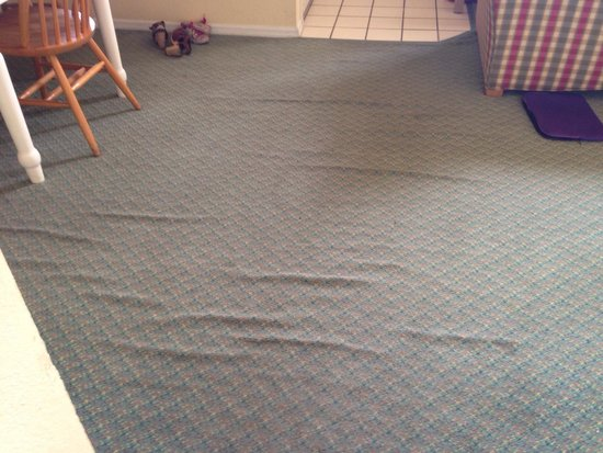 Oak Plantation Resort: Nice carpets