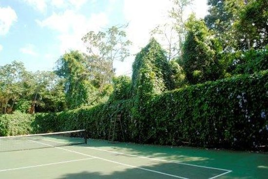 Mayoka Lodge: Tennis Court