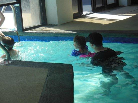 DoubleTree Resort by Hilton Myrtle Beach Oceanfront: indoor to outdoor pool