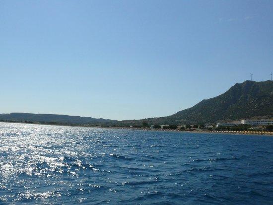 Mitsis Norida Beach Hotel: Sehr schöner Ausblick und Anblick !!