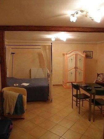 Residenza Cieloterra: Veduta di una parte del nostro appartamento
