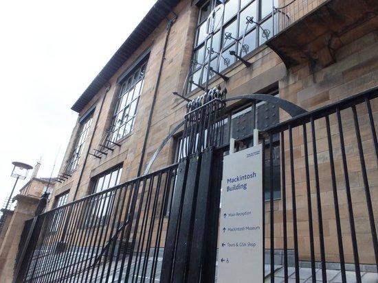 The Glasgow School of Art : GSA Front
