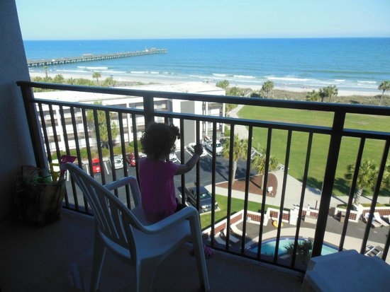 DoubleTree Resort by Hilton Myrtle Beach Oceanfront: our view