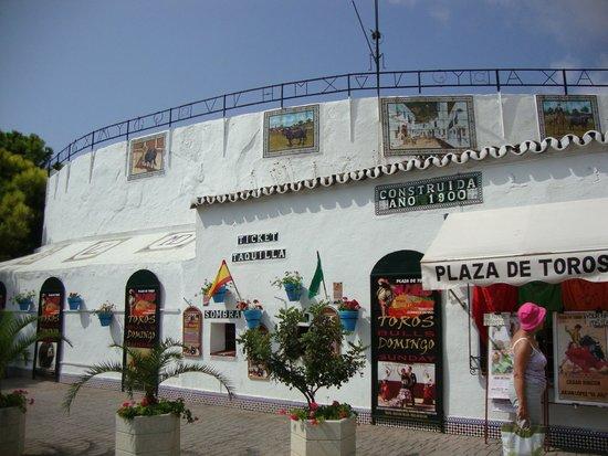 Mijas Plaza de Toros: ingang
