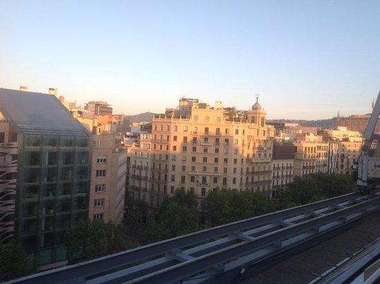 Hotel Royal Passeig de Gracia: Zimmeraussicht