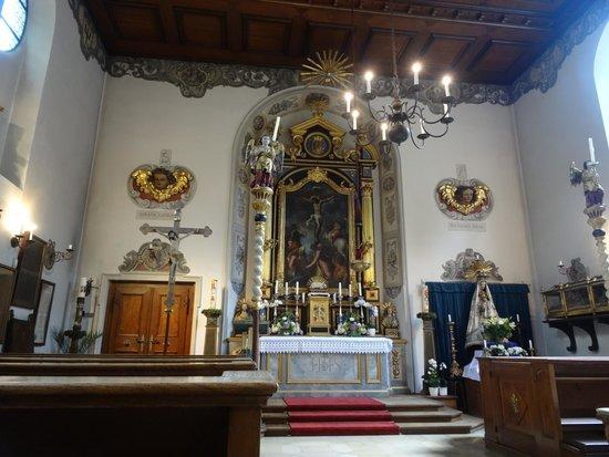 La 'Fuggerei' di Augsburg, la chiesa di San Marco