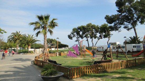 Las Palmeras Camping: Zona de Juegos
