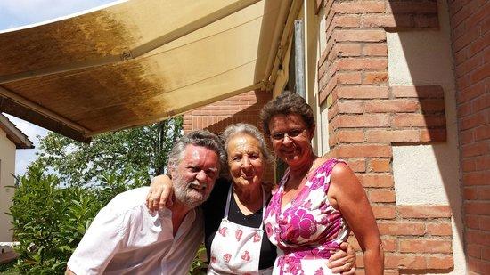 Agriturismo San Michele: Francesco y Beatrice