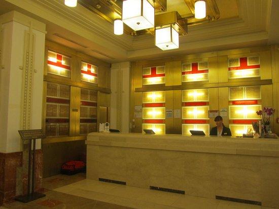 Hotel Majestic Plaza Prague: recibidor