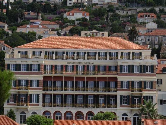 Hilton Imperial Dubrovnik : Hotel exterior