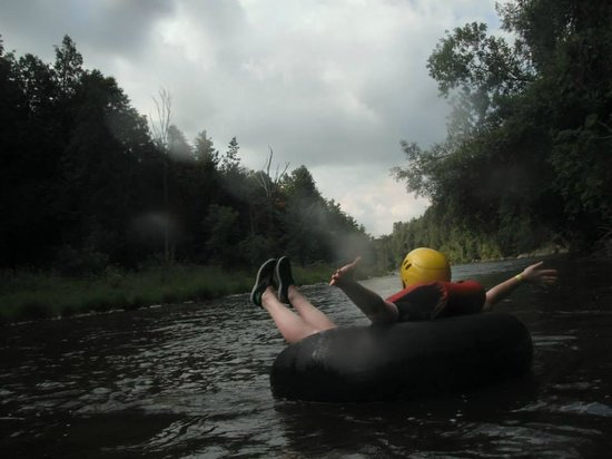 Elora Gorge Conservation Area: Tubing at Elora Gorge