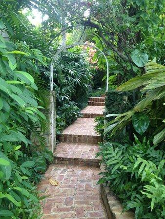 Round Hill Hotel & Villas: Love The Paths