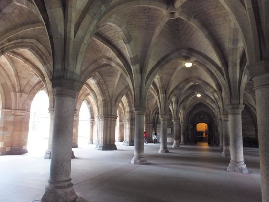 University of Glasgow: Cloisters