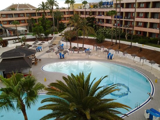 La Siesta Hotel : pool area