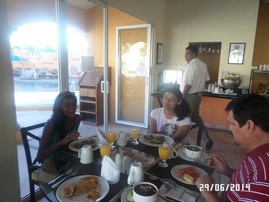 Hotel Quinta Del Sol: rica comida