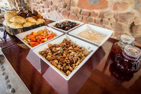 Leopard Mountain Safari Lodge: Breakfast spread