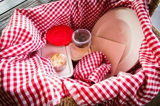 Leopard Mountain Safari Lodge: Lunch picnic basket