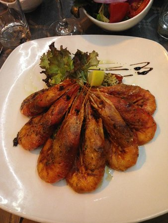 Cockney's Restaurant: King Prawns