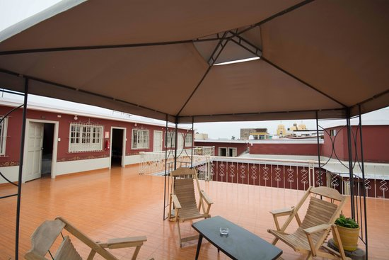 Hostal Colonial: Hotel Colonial - Dachterrasse