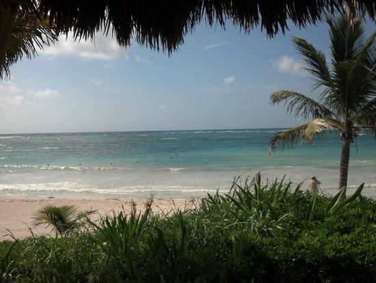 Dreams Tulum Resort & Spa: Massage Beach Area