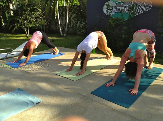 Swell Surf Camp: yoga with Molly