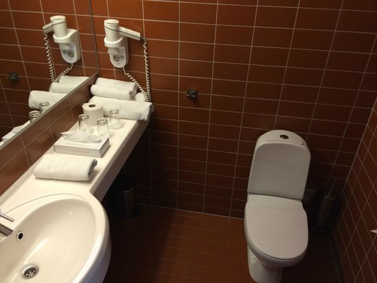 Dorpat Hotel & Convention Centre: Bathroom