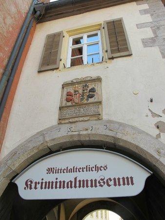 Mittelalterliches Kriminalmuseum: 1