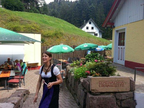 Landgasthaus Aichhalder Mühle: Friendly and efficient service