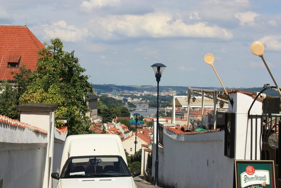 Hradschin (Burgstadt/Hradčany): Градчаны, вид на город