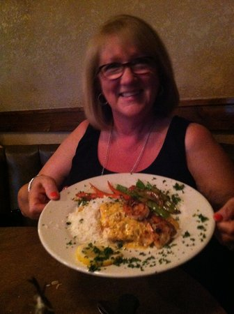 Caspian Cafe Mediterranean : seafood special
