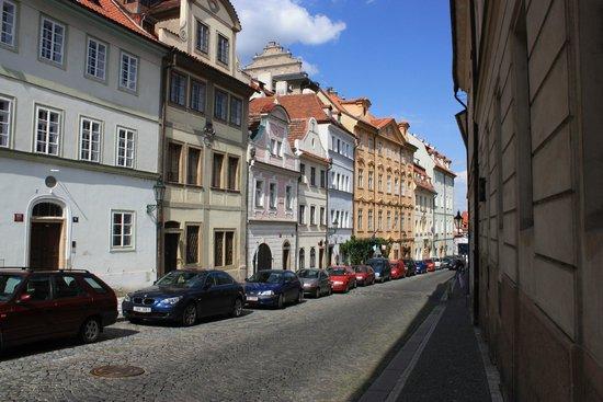 Hradschin (Burgstadt/Hradčany): ул. Úvoz