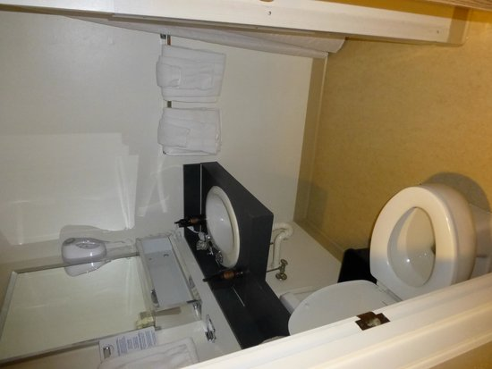 Grant Village Lodge: Bathroom