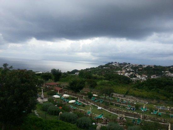 Resort Grazia Terme: vista sul golfo di Napoli