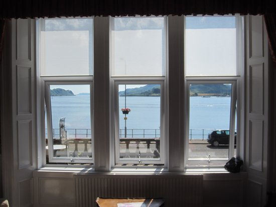 Barriemore Guest House: View from our window