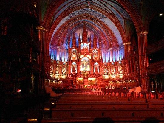 Basilique Notre-Dame de Montréal : 2