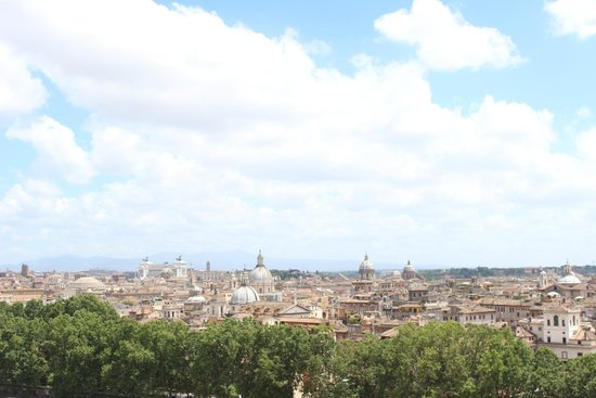 Castillo de Sant'Angelo: View from the top