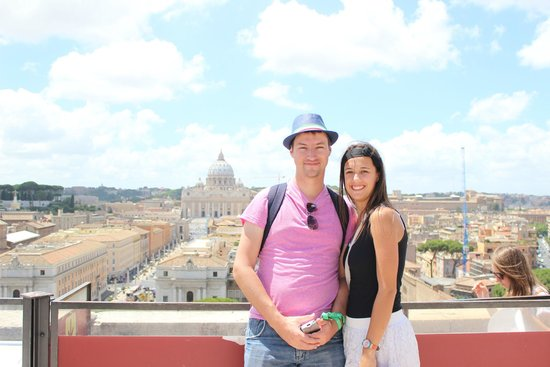 Castillo de Sant'Angelo: View of the Vatican City