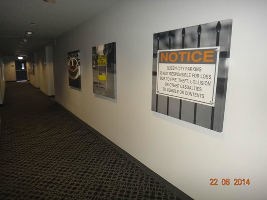 HYATT house Charlotte Center City : corredor quartos