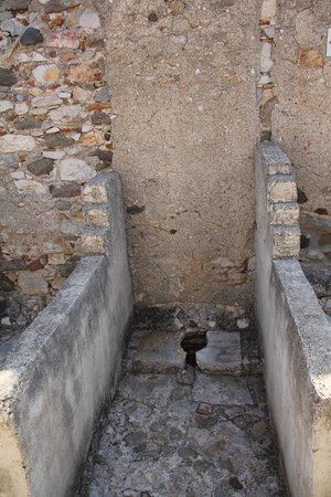 Castle of St. Peter : lattrine