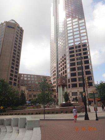 HYATT house Charlotte Center City: cidade de charlotte, linda e limpa
