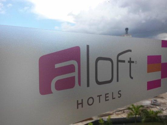 Aloft Miami Doral : Sign